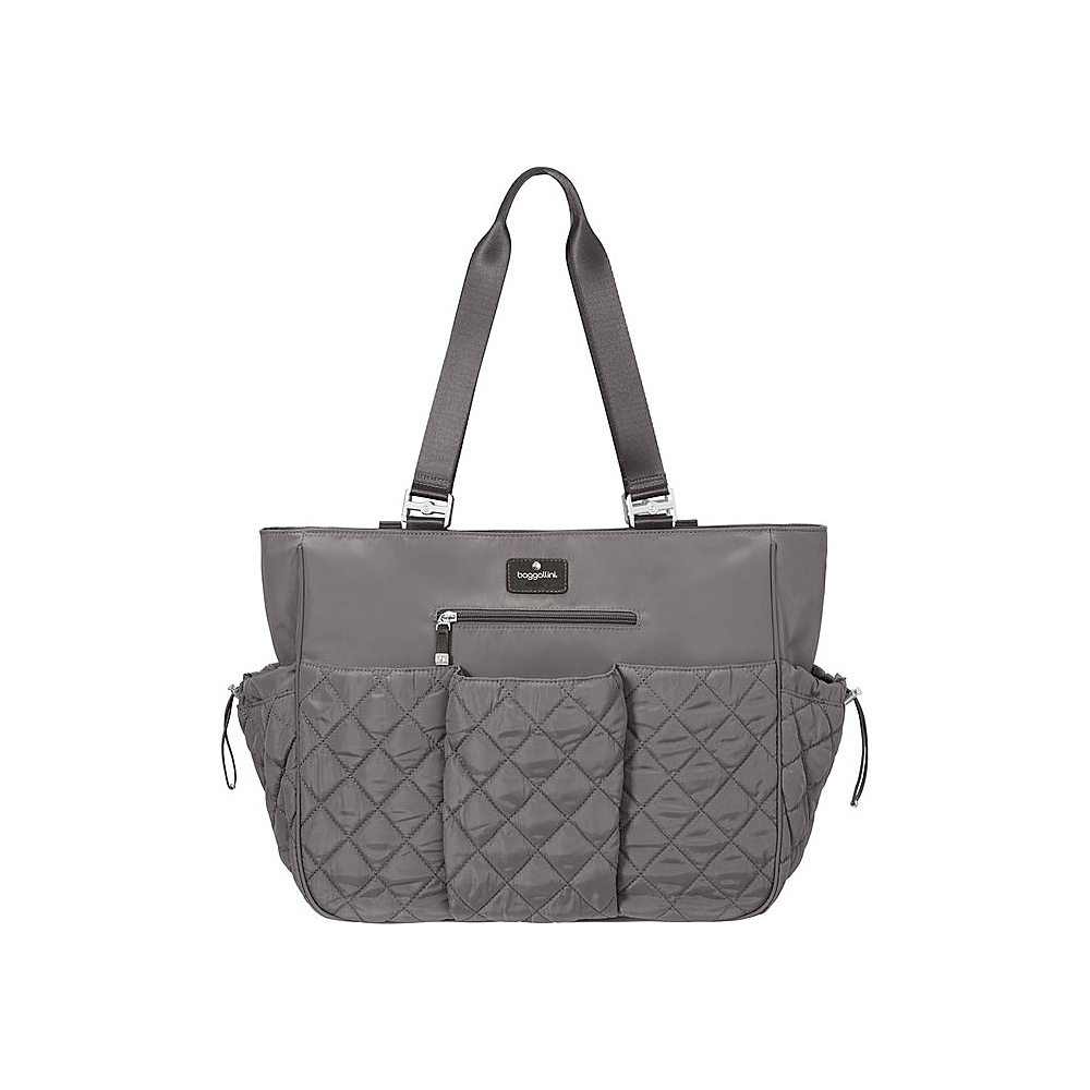 baggallini On The Go Baby Tote SMOKE - baggallini Diaper Bags & Accessories - Handbags, Diaper Bags & Accessories