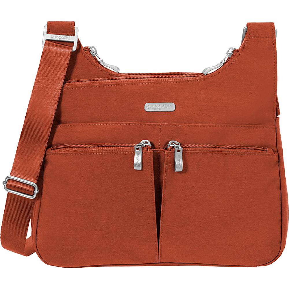 baggallini Cross Over Crossbody Adobe - baggallini Fabric Handbags - Handbags, Fabric Handbags
