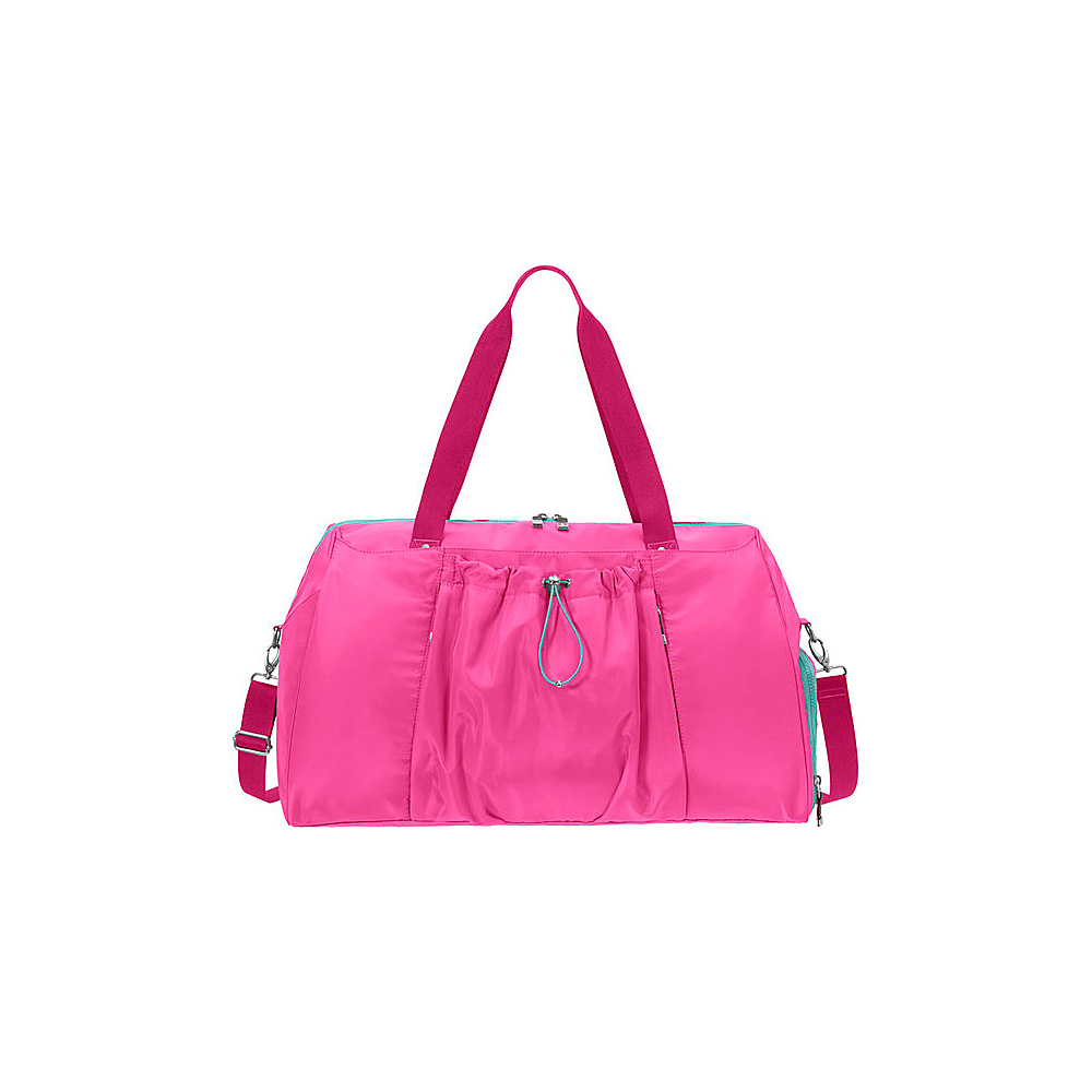 baggallini Step To It Duffel MAGENTA - baggallini Travel Duffels - Duffels, Travel Duffels