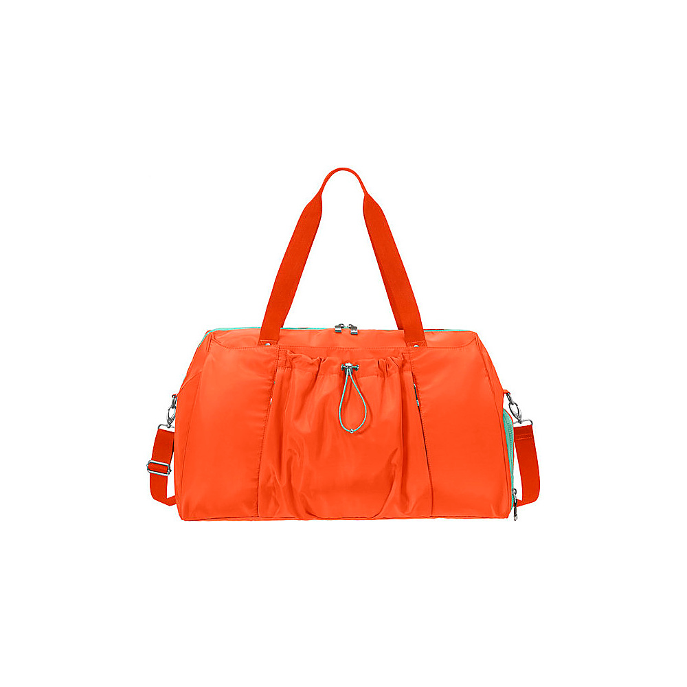 baggallini Step To It Duffel TANGERINE - baggallini Travel Duffels