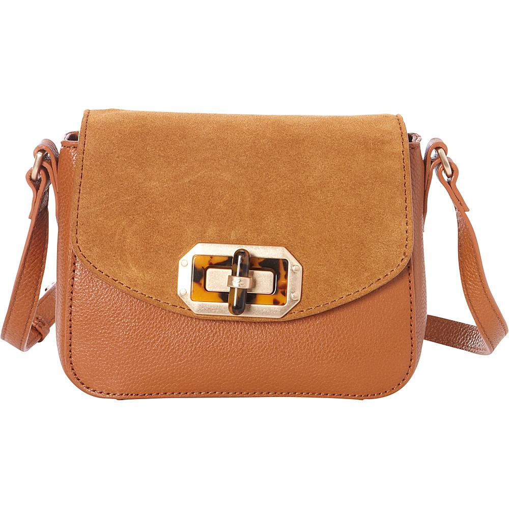 Foley Corinna Whitney Crossbody Honey Brown Foley Corinna Designer Handbags