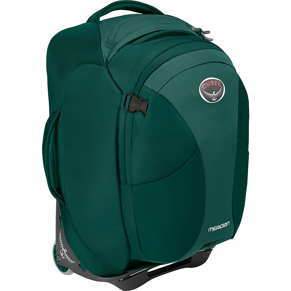 Osprey Meridian 60L/22 Carry-On Rainforest Green - Osprey Softside Carry-On - Luggage, Softside Carry-On