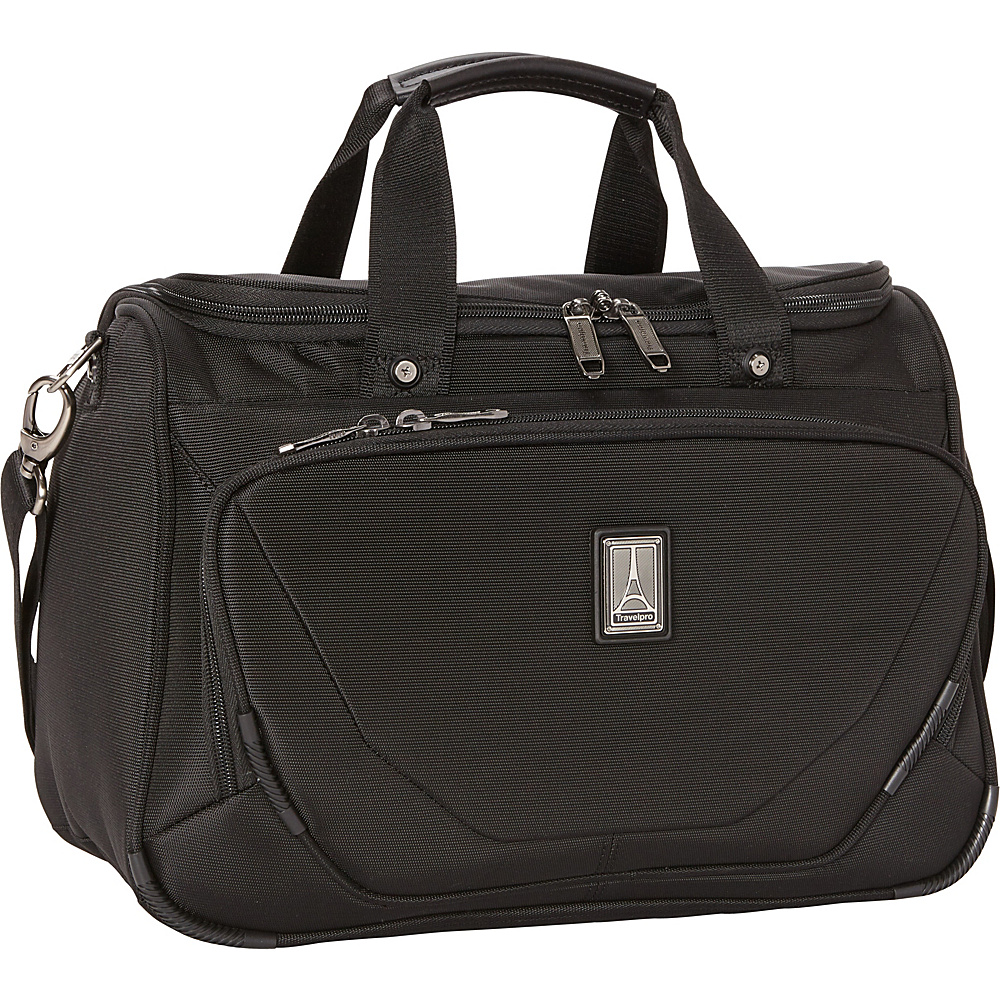 Travelpro Crew 11 Deluxe Tote Black - Travelpro Luggage Totes and Satchels