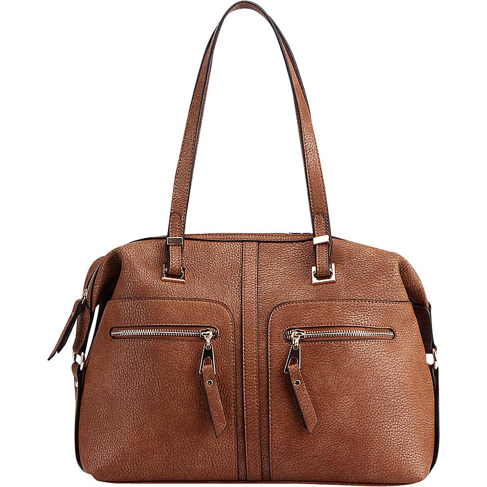MKF Collection Blanche Satchel Brown - MKF Collection Manmade Handbags - Handbags, Manmade Handbags