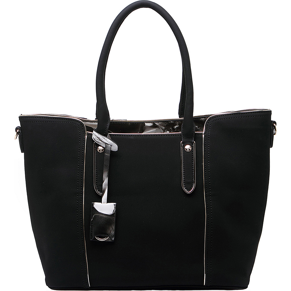 MKF Collection Jump Into Fall Tote Bag Black - MKF Collection Manmade Handbags - Handbags, Manmade Handbags