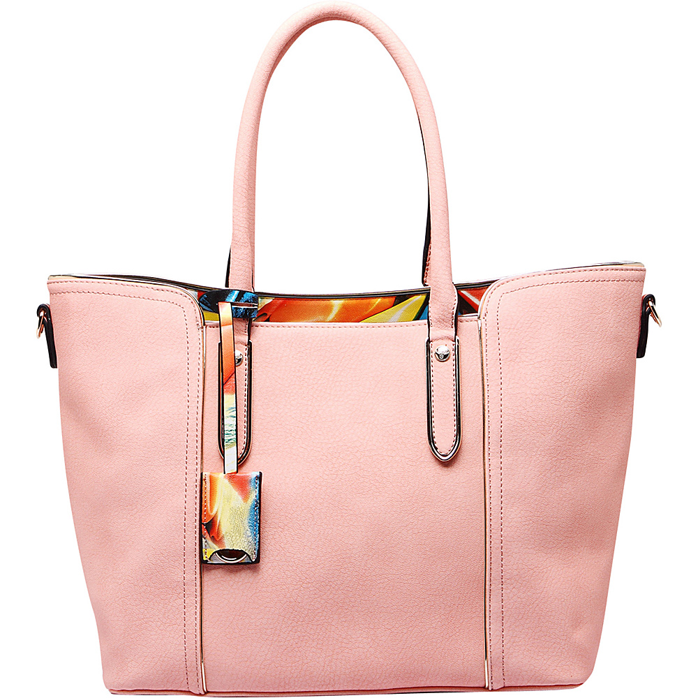 MKF Collection Jump Into Fall Tote Bag Pink - MKF Collection Manmade Handbags - Handbags, Manmade Handbags
