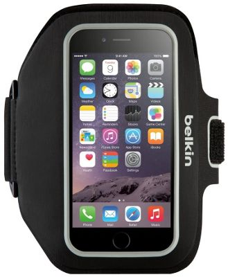 Belkin Sport-Fit Plus Armband for iPhone 6 Plus and iPhone 6s Plus Black - Belkin Electronic Cases