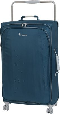it luggage World's Lightest 8 Wheel Spinner 31.5 Blue Ashes - it luggage Softside Checked