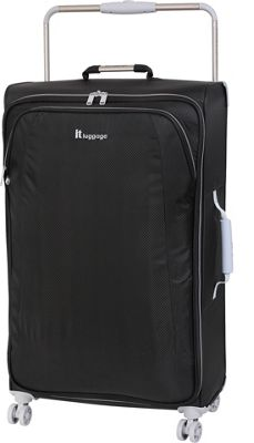 it luggage World's Lightest 8 Wheel Spinner 31.5 RAVEN - it luggage Softside Checked