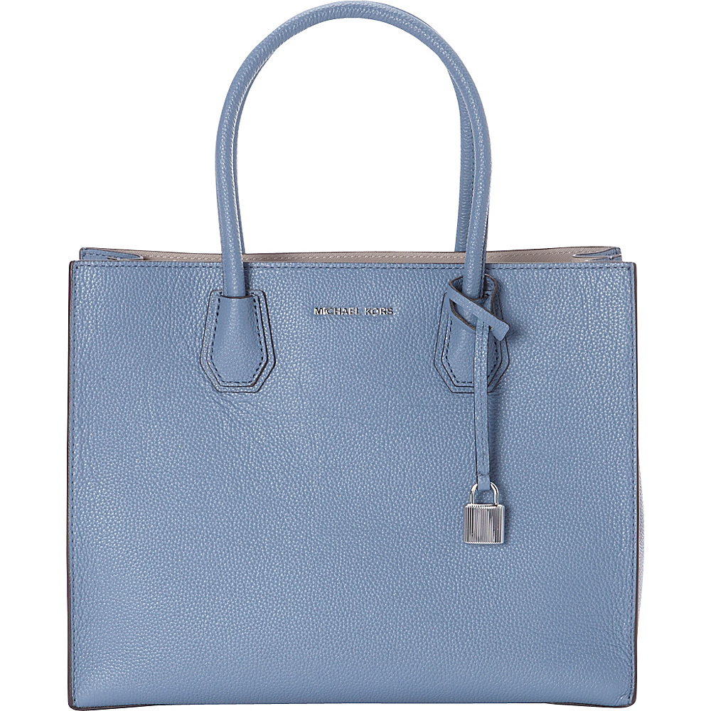 MICHAEL Michael Kors Mercer Large Convertible Tote Denim MICHAEL Michael Kors Designer Handbags