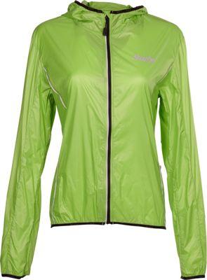 Swix Womens Cyclon Packable Wind Jacket M - Lime - Swix Women's Apparel