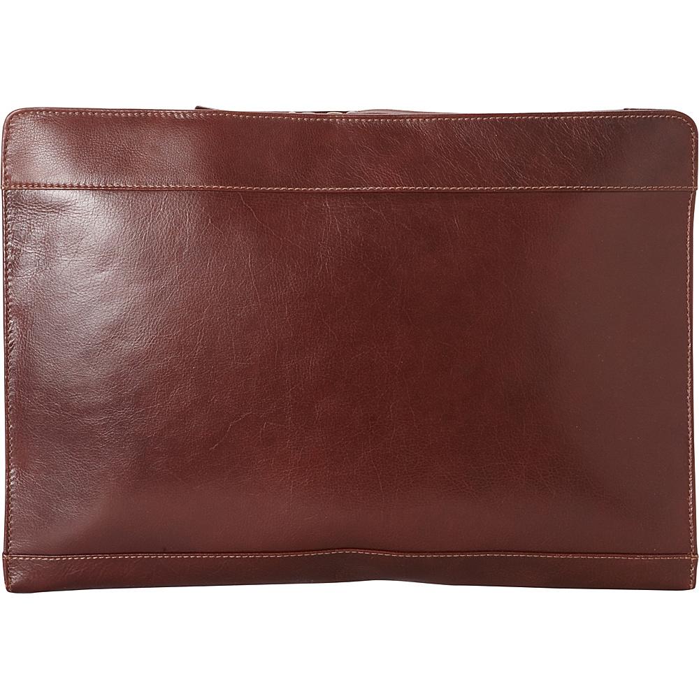 Derek Alexander Legal Sized Port Bristol Leather Portfolio Whisky - Derek Alexander Business Accessories - Work Bags & Briefcases, Business Accessories