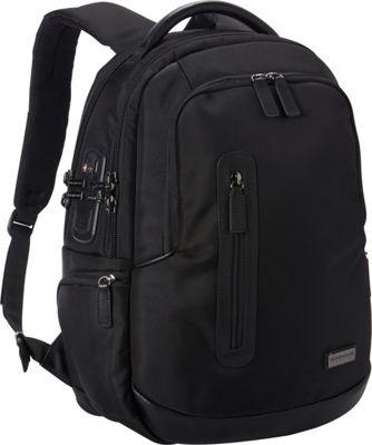 Numinous London SMART City Backpack 901 Black - Numinous London Business & Laptop Backpacks