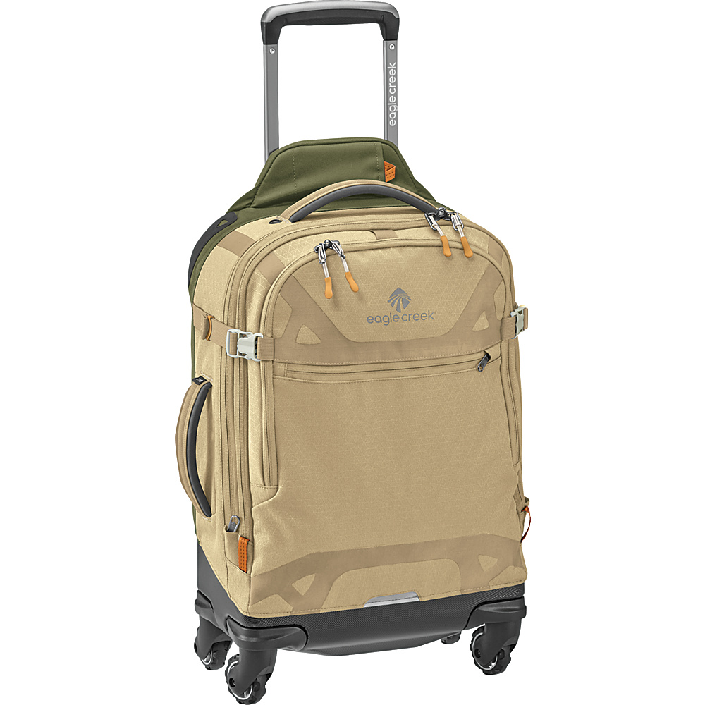 Eagle Creek Gear Warrior AWD International Carry-On Tan/Olive - Eagle Creek Softside Carry-On - Luggage, Softside Carry-On