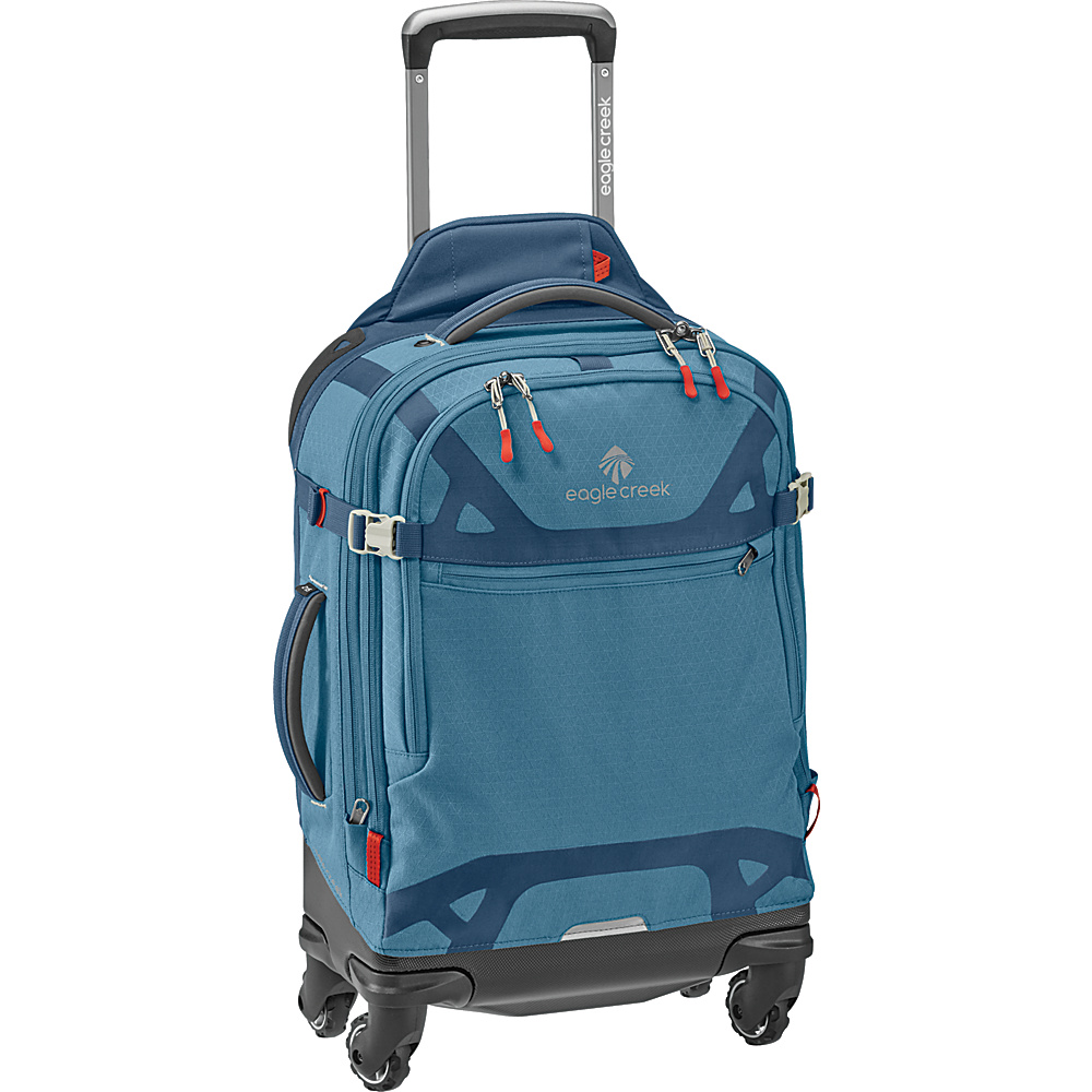 Eagle Creek Gear Warrior AWD International Carry-On Smokey Blue - Eagle Creek Softside Carry-On - Luggage, Softside Carry-On