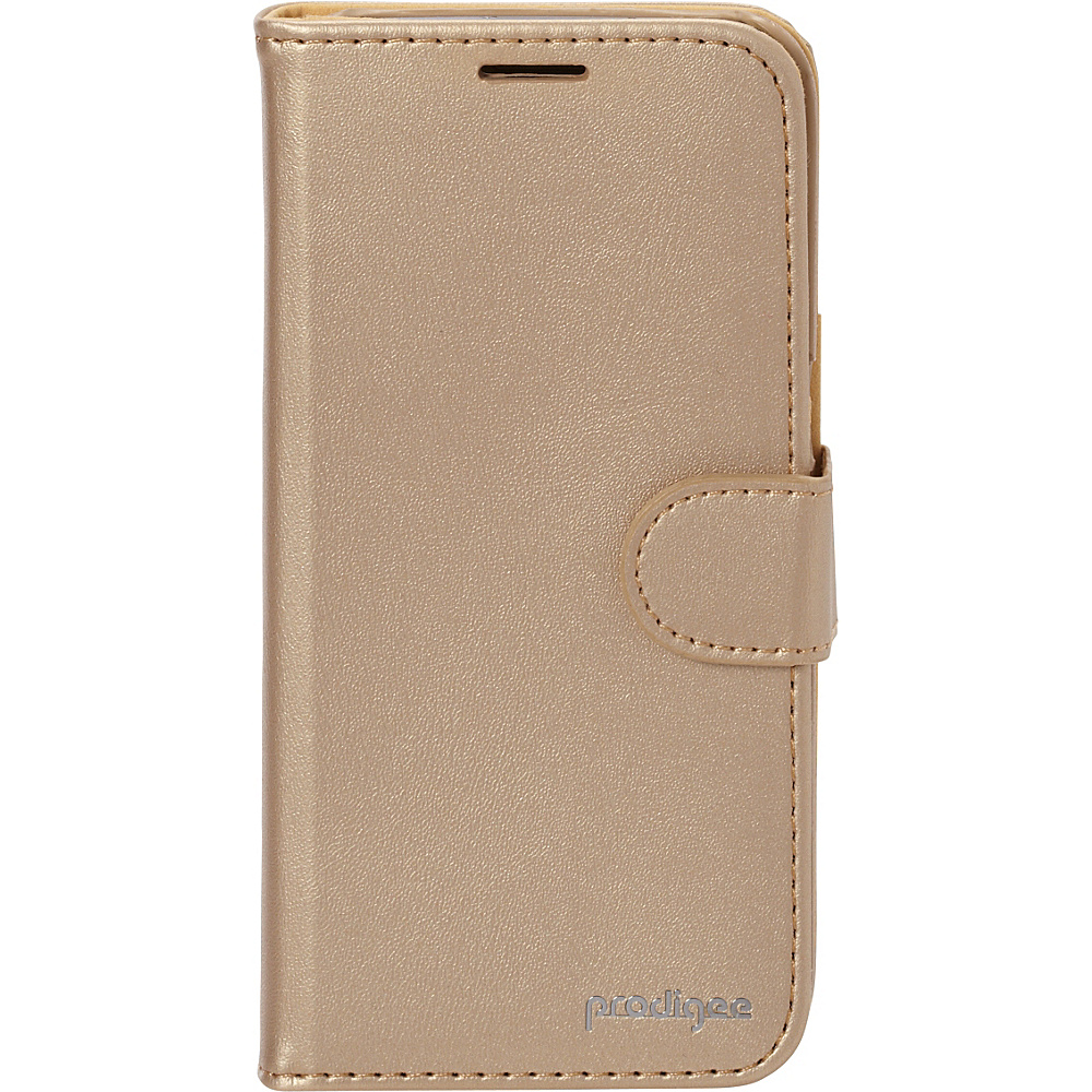 Prodigee Wallegee Case for Samsung S7 Gold Prodigee Electronic Cases