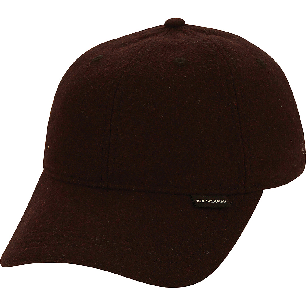 Ben Sherman Core Baseball Cap One Size - Dark Port - Ben Sherman Hats/Gloves/Scarves