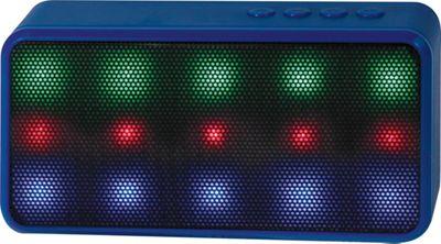 Lyrix Prysm Bluetooth LED Speaker Blue - Lyrix Headphones & Speakers