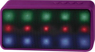 Lyrix Prysm Bluetooth LED Speaker Purple - Lyrix Headphones & Speakers