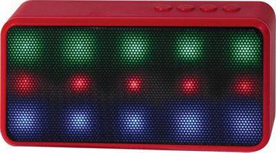 Lyrix Prysm Bluetooth LED Speaker Red - Lyrix Headphones & Speakers