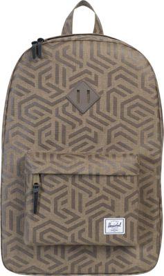Herschel Supply Co. Heritage Laptop Backpack- Sale Colors Metric/Black Rubber - Herschel Supply Co. Business & Laptop Backpacks