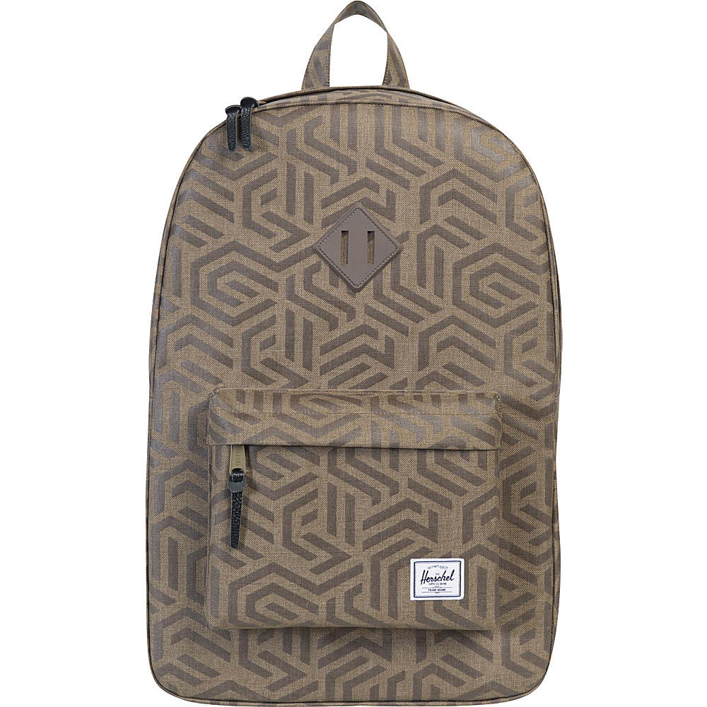 Herschel Supply Co. Heritage Laptop Backpack Discontinued Colors Metric Black Rubber Herschel Supply Co. Business Laptop Backpacks