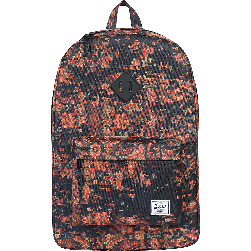 Herschel Supply Co. Heritage Laptop Backpack Discontinued Colors Century Black Rubber Herschel Supply Co. Business Laptop Backpacks