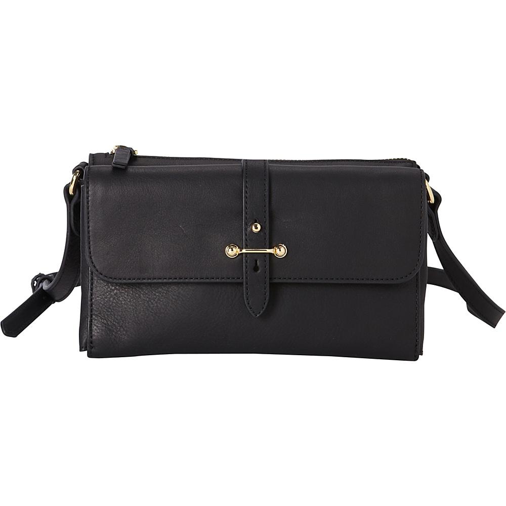 Vince Camuto Cass Crossbody Black Vince Camuto Designer Handbags