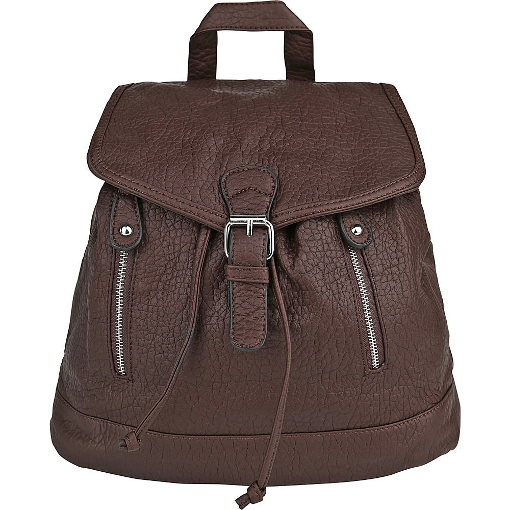 MKF Collection Disney Back To School Backpack Brown - MKF Collection Everyday Backpacks