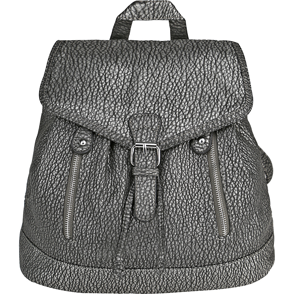MKF Collection Disney Back To School Backpack Pewter - MKF Collection Everyday Backpacks