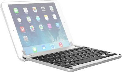 Brydge 7.9 inch Bluetooth Keyboard for iPad Mini 4 Silver - Brydge Tablets