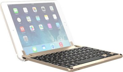 Brydge 7.9 inch Bluetooth Keyboard for iPad Mini 4 Gold - Brydge Tablets