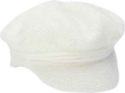 Adora Hats Wool Newsboy Hat One Size - Ivory - Adora Hats Hats