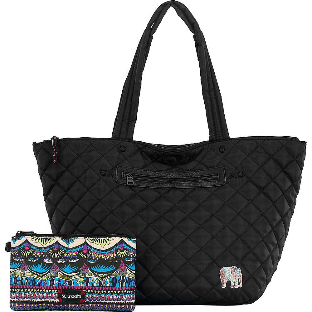 Sakroots Kota Reversible City Tote Radiant One World - Sakroots Fabric Handbags