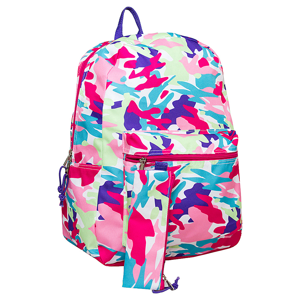 MKF Collection Super Duper Awesome Girls Back To School Backpack Pink - MKF Collection Everyday Backpacks