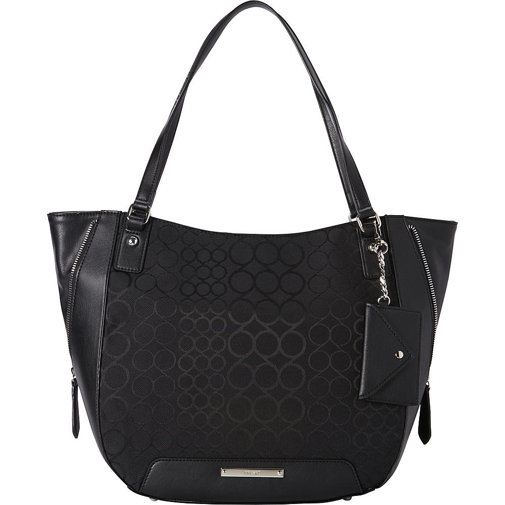 Nine West Handbags 9S Carryall Bag Black - Nine West Handbags Fabric Handbags