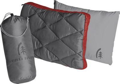 Sierra Designs Dridown Ultralight Pillow Bossa Nova/Smoked Pearl - Sierra Designs Travel Pillows & Blankets