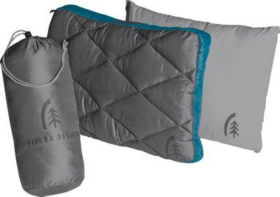 Sierra Designs Dridown Ultralight Pillow Caribbean/Smoked Pearl - Sierra Designs Travel Pillows & Blankets