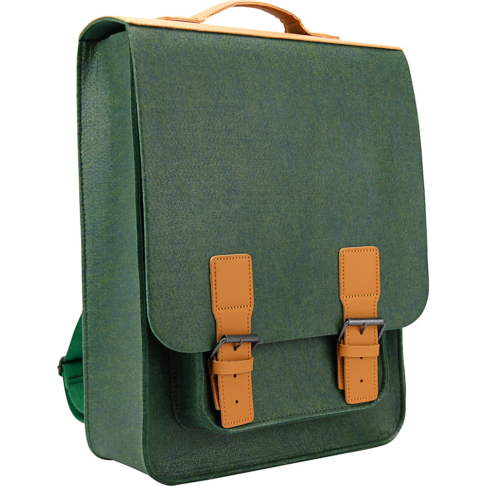 Mad Rabbit Kicking Tiger Kendrick Backpack Midnight Green Mad Rabbit Kicking Tiger Business Laptop Backpacks