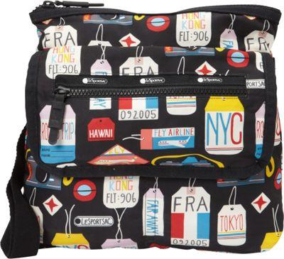 LeSportsac Travel Flight Crossbody Boarding Pass T - LeSportsac Fabric Handbags