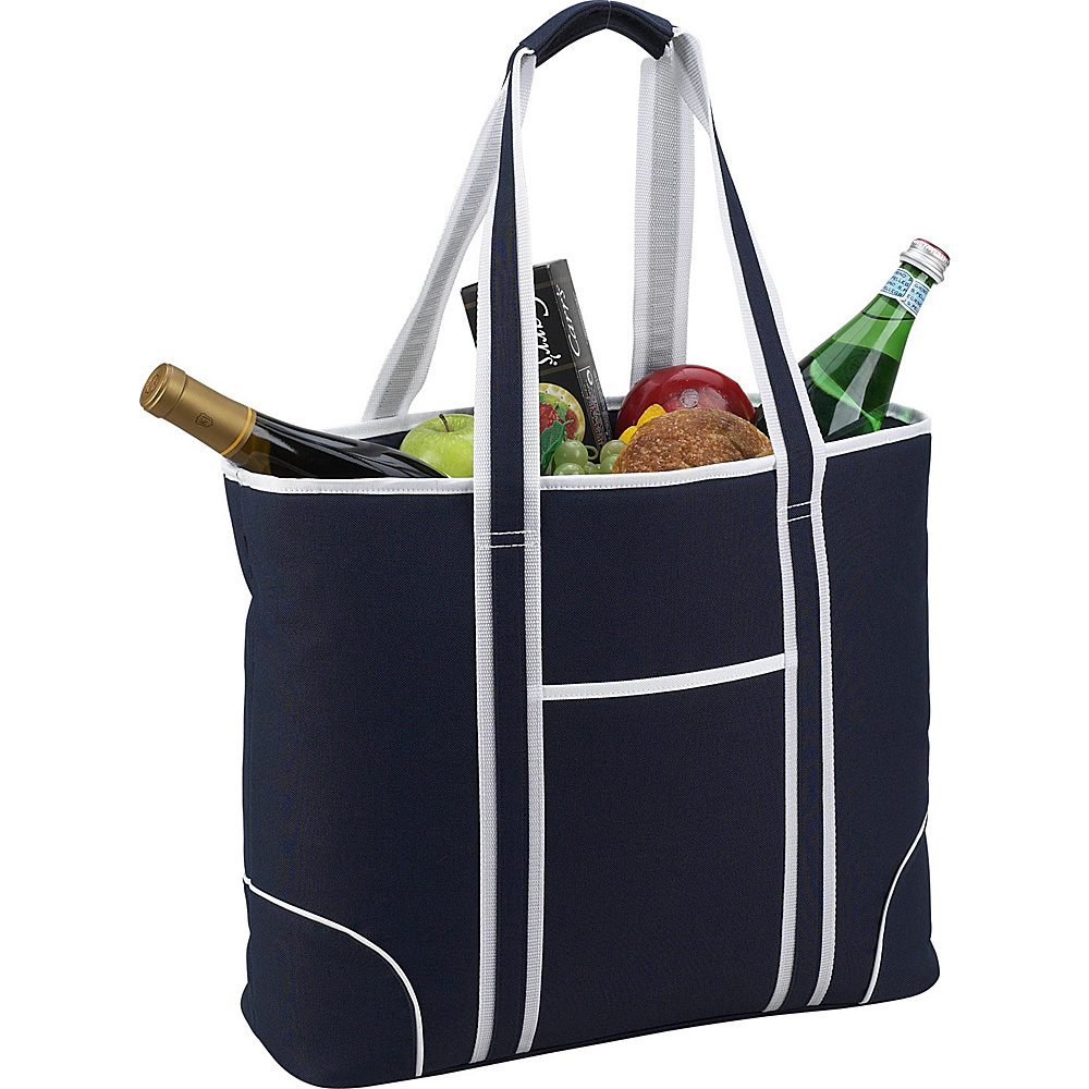 Picnic at Ascot Extra Large Insulated Cooler Bag - 30 Can Tote Navy - Picnic at Ascot Outdoor Coolers - Outdoor, Outdoor Coolers