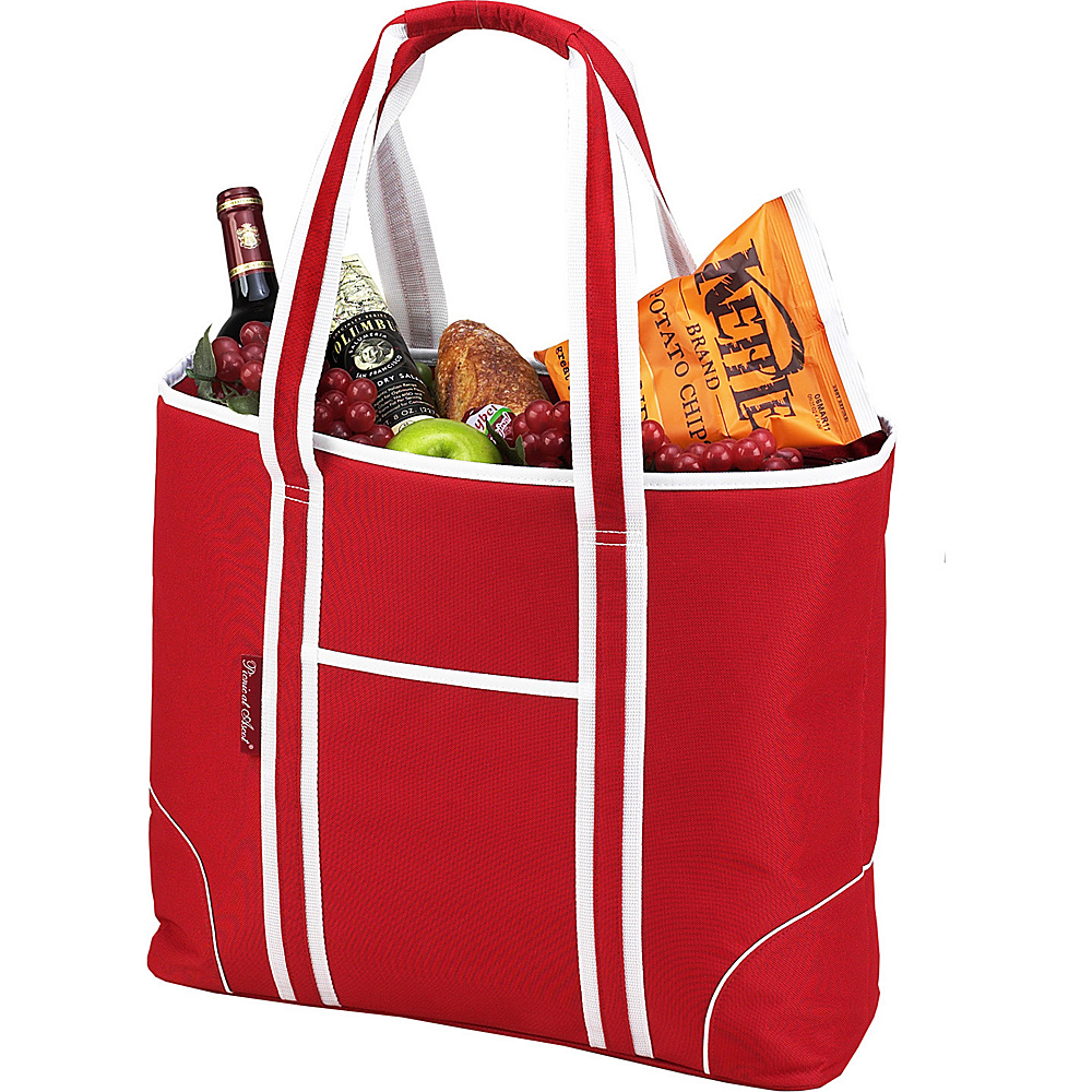 Picnic at Ascot Extra Large Insulated Cooler Bag - 30 Can Tote Red - Picnic at Ascot Outdoor Coolers - Outdoor, Outdoor Coolers