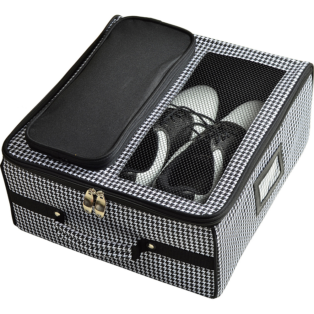 Picnic at Ascot Golf Trunk Organizer Houndstooth - Picnic at Ascot Sports Accessories - Sports, Sports Accessories