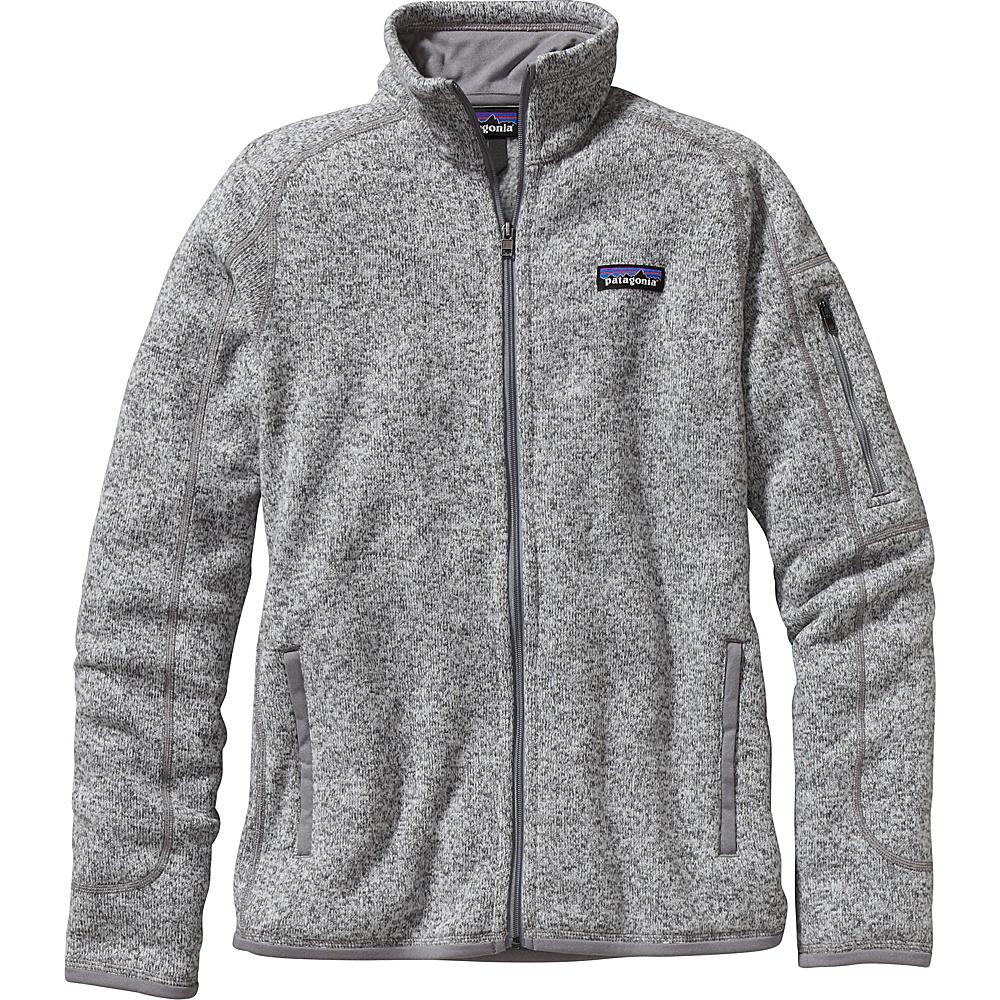 Patagonia Womens Better Sweater Jacket XS - Birch White - Patagonia Womens Apparel - Apparel & Footwear, Women's Apparel