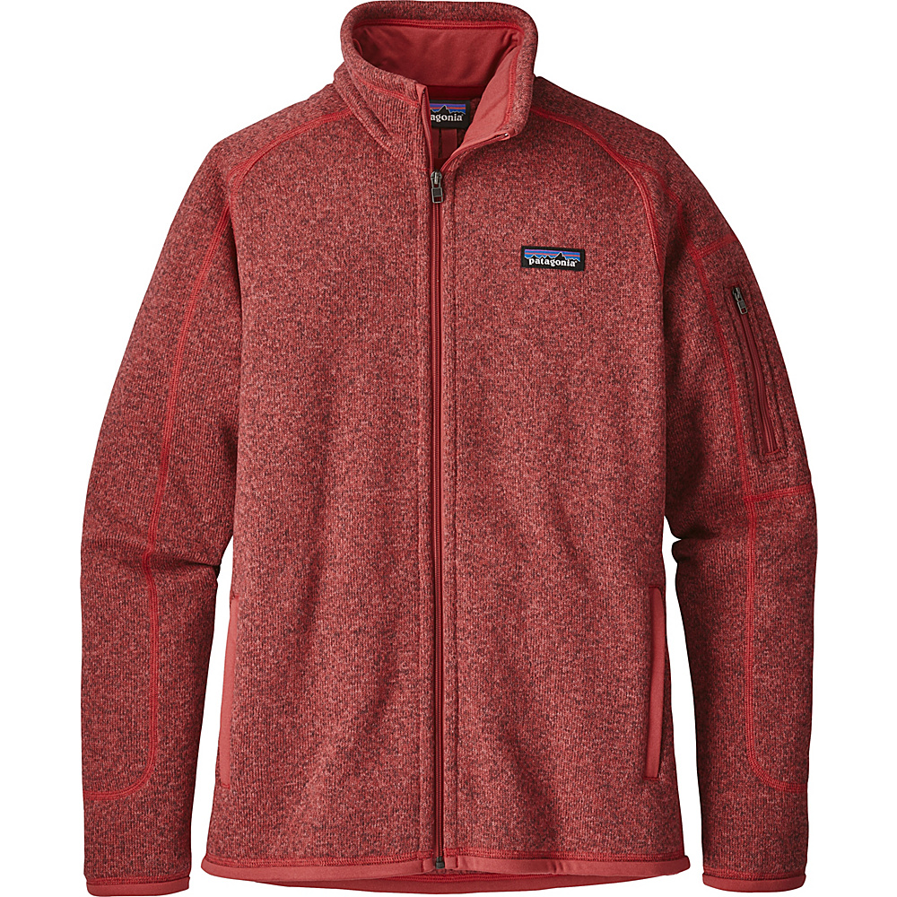 Patagonia Womens Better Sweater Jacket XS - Static Red - Patagonia Womens Apparel - Apparel & Footwear, Women's Apparel