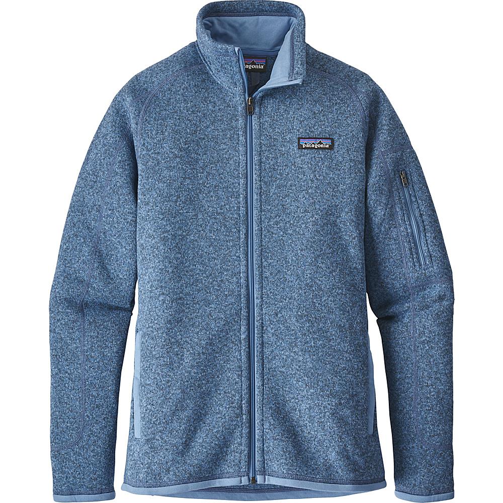 Patagonia Womens Better Sweater Jacket XS - Railroad Blue - Patagonia Womens Apparel - Apparel & Footwear, Women's Apparel