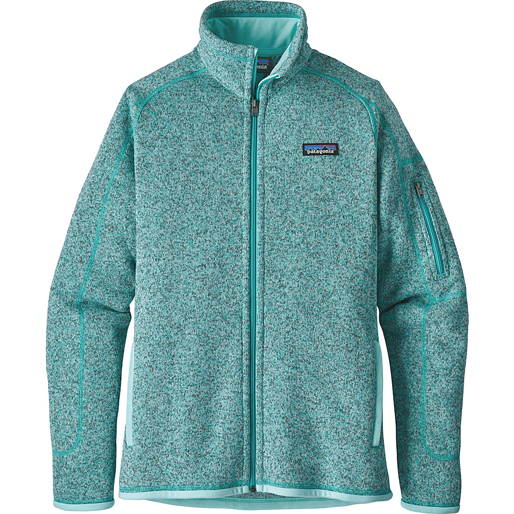 Patagonia Womens Better Sweater Jacket XS - Bend Blue - Patagonia Womens Apparel - Apparel & Footwear, Women's Apparel