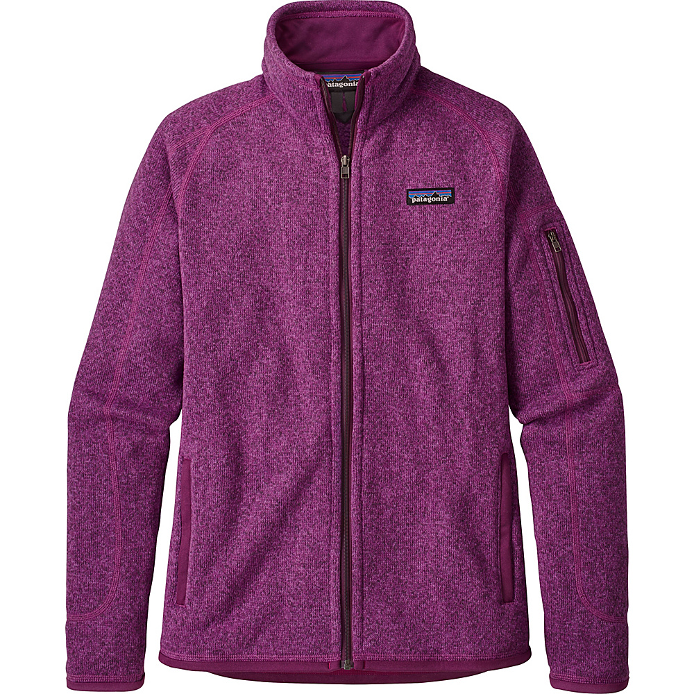 Patagonia Womens Better Sweater Jacket XXS - Ikat Purple - Patagonia Womens Apparel - Apparel & Footwear, Women's Apparel