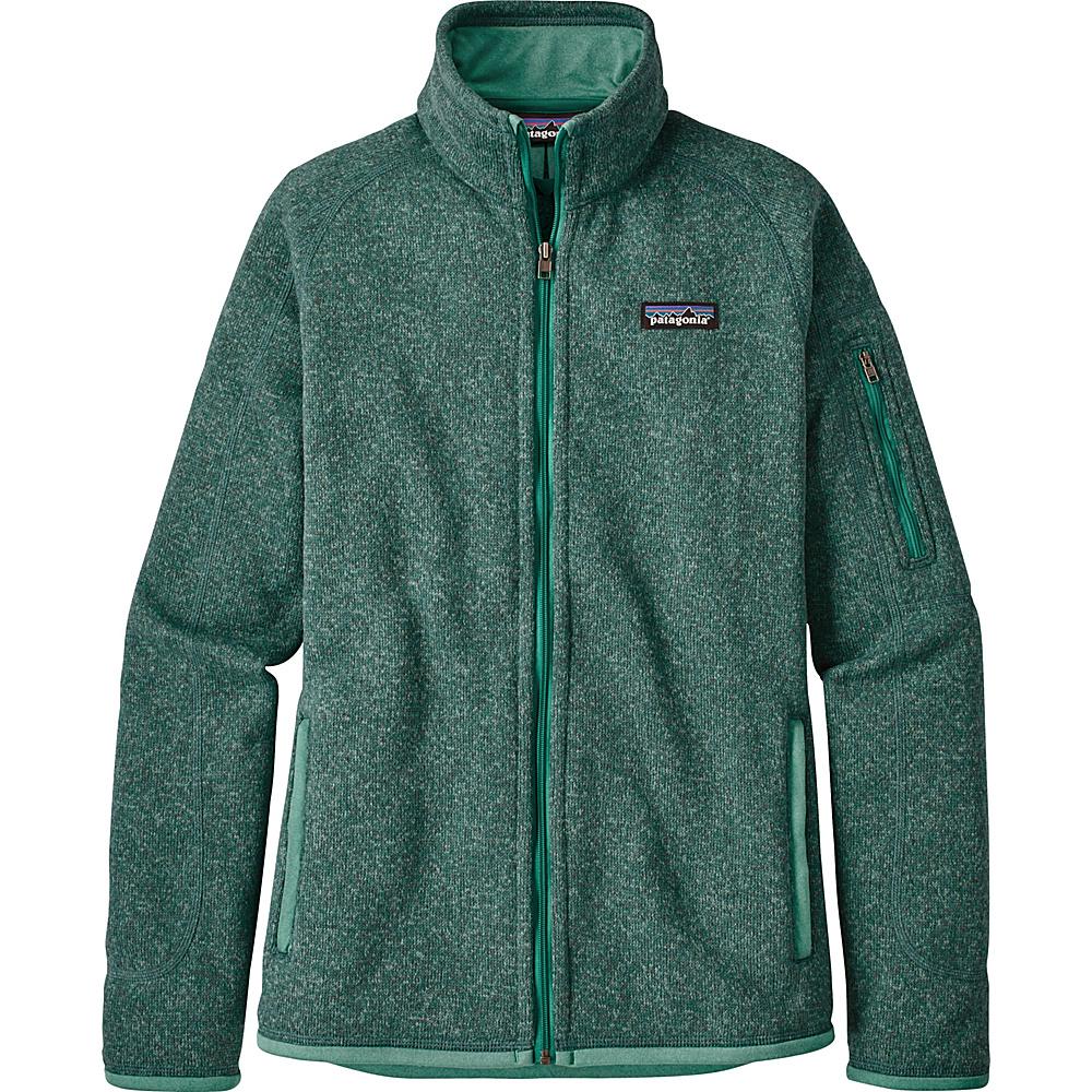 Patagonia Womens Better Sweater Jacket S - Beryl Green w/Beryl Green - Patagonia Womens Apparel - Apparel & Footwear, Women's Apparel