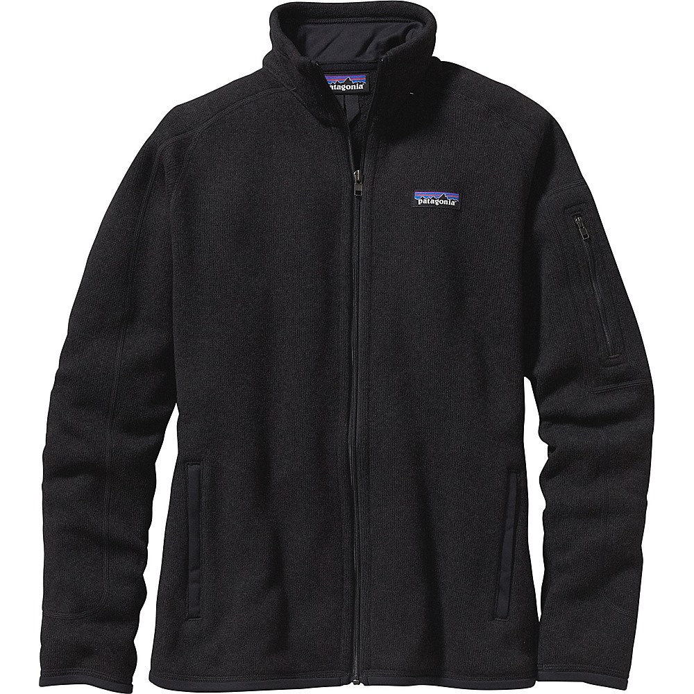 Patagonia Womens Better Sweater Jacket S - Black - Patagonia Womens Apparel - Apparel & Footwear, Women's Apparel